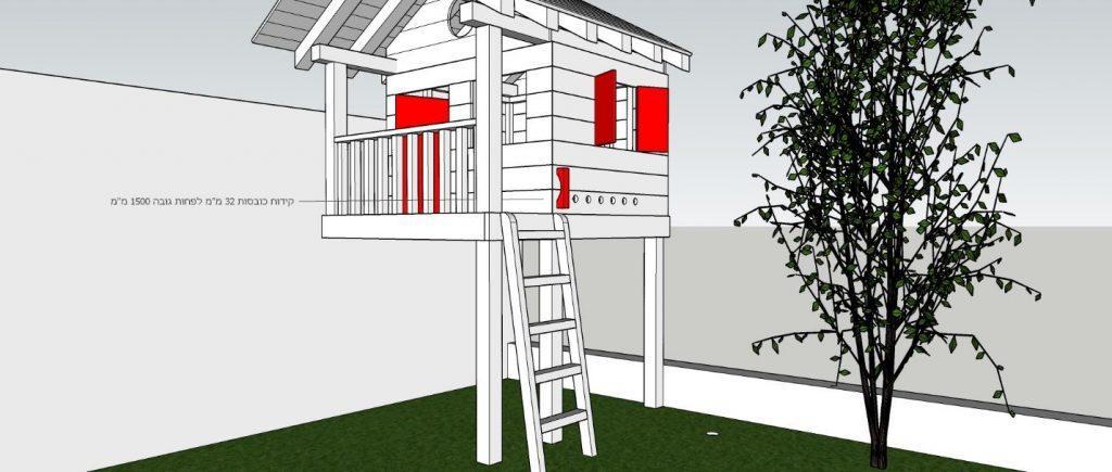 בית עץ לבניה עצמית